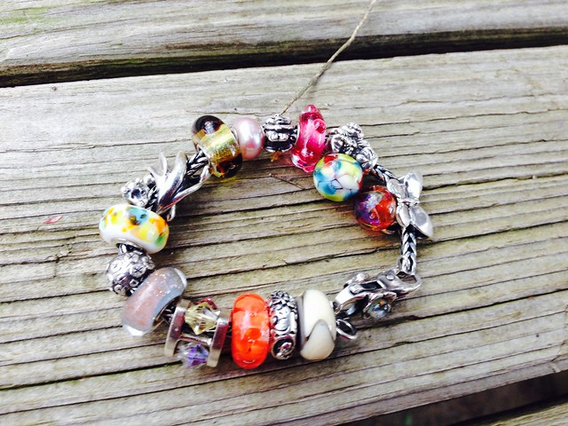 An almost spring bracelet 16953607211_60f5231411_z