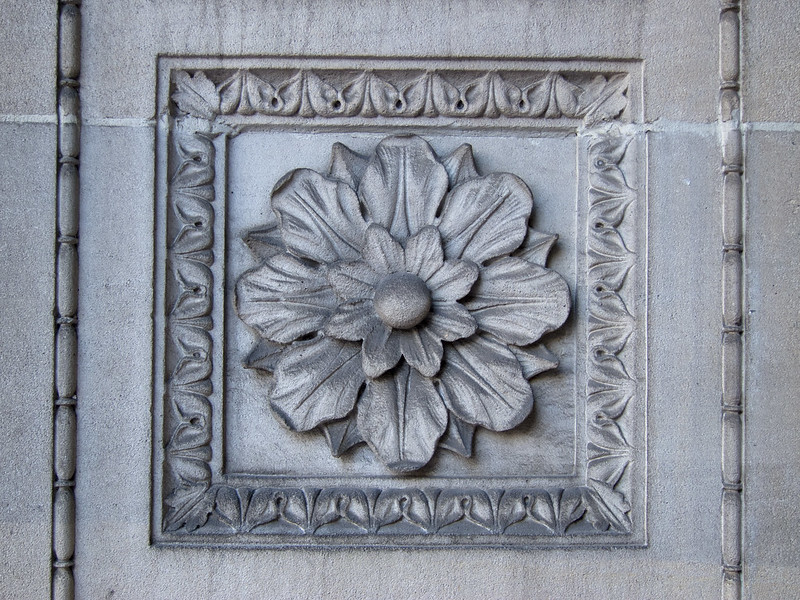 Lacy Building detail
