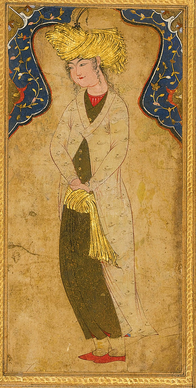 A TURBANED YOUTH, PERSIA, 17TH CENTURY