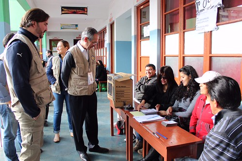 OAS Observation Mission to Bolivian Elections Deployed Experts in Seven Departments of the Country