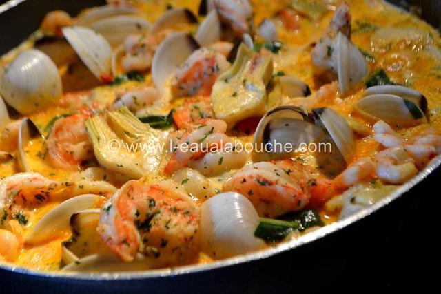Cassolette de Crevettes et Coquillages ©  Ana Luthi Tous droits réservés 00005
