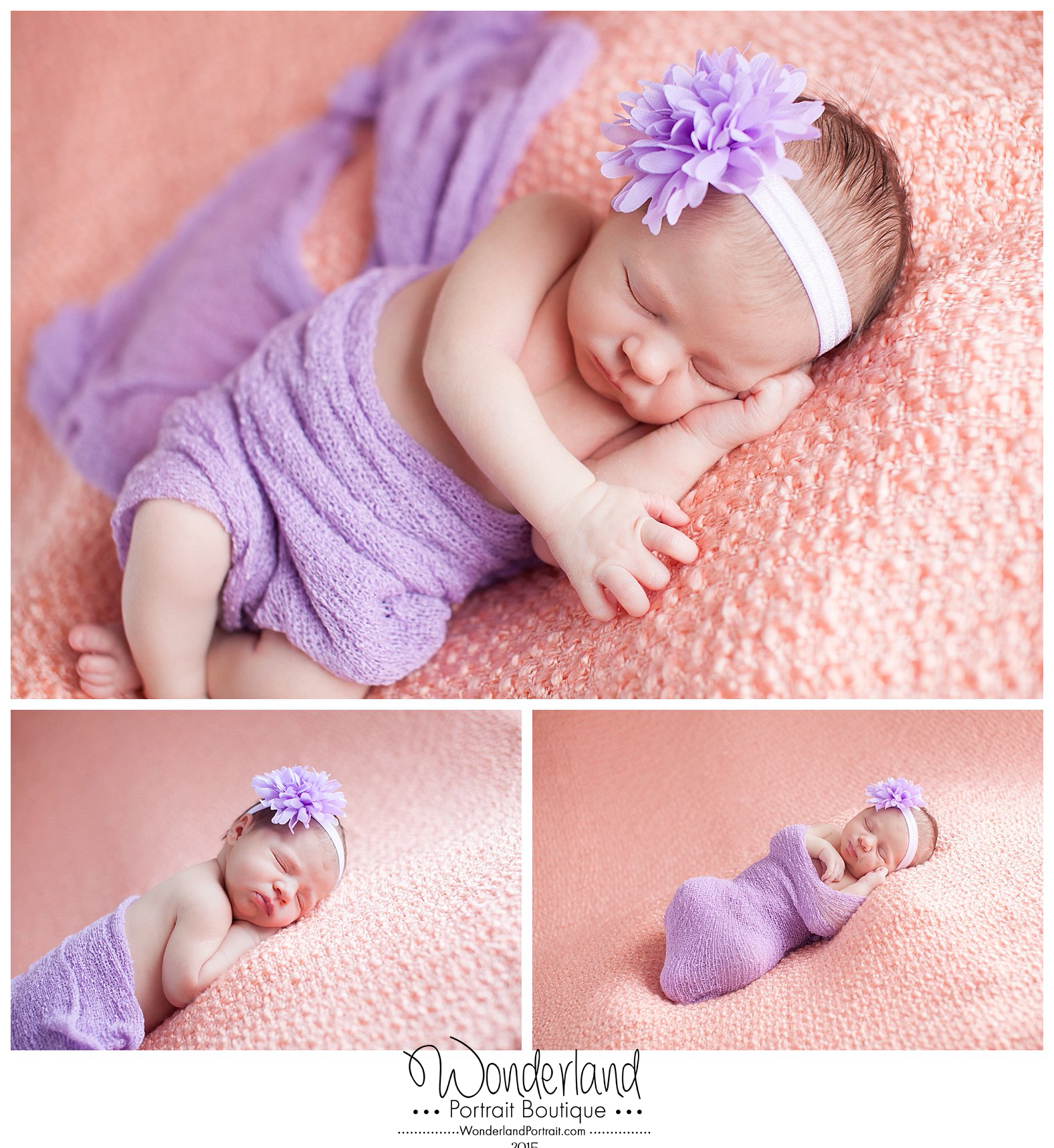 Sleepy Newborn Poses  Richboro PA Photographer WonderlandPortrait.com