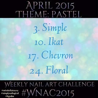 #WNAC2015 April / Pastel