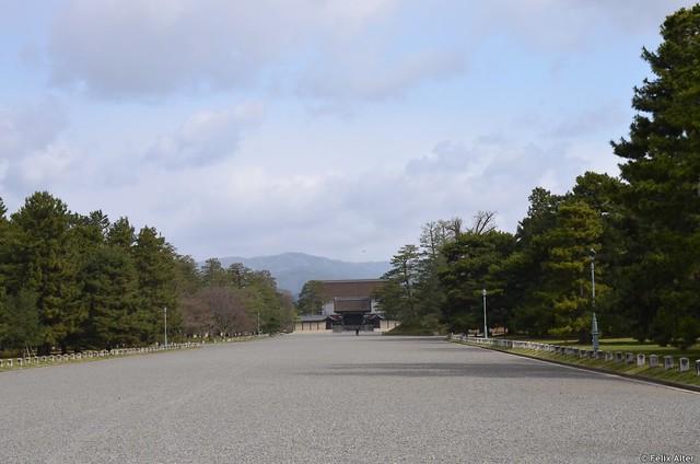 Weg zum Kaiserpalast