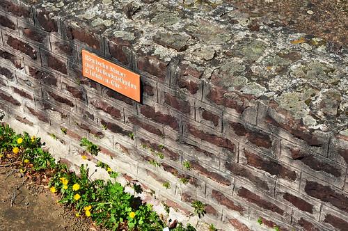 Ladenburg am Neckar - Archäologie - Römische Mauer