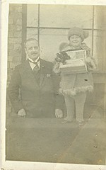 wilfred annear & jean - 1922 ilfracombe