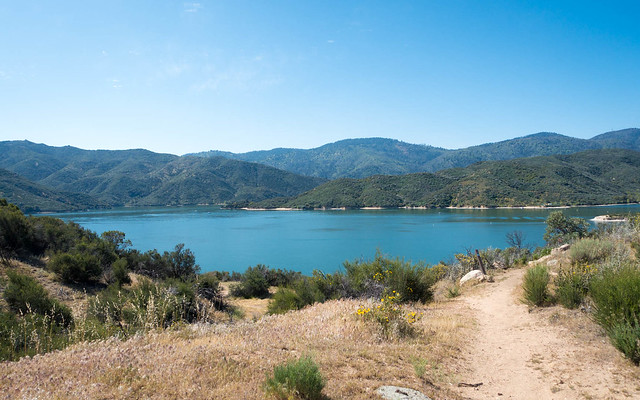 Silverwood Lake view, m324