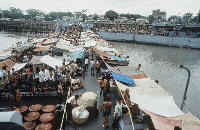Repatriation Of Vietnam Refugees 1970 - by Larry Burrows