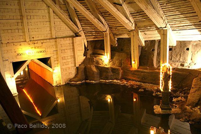 Otra galería inundada. © Paco Bellido, 2008