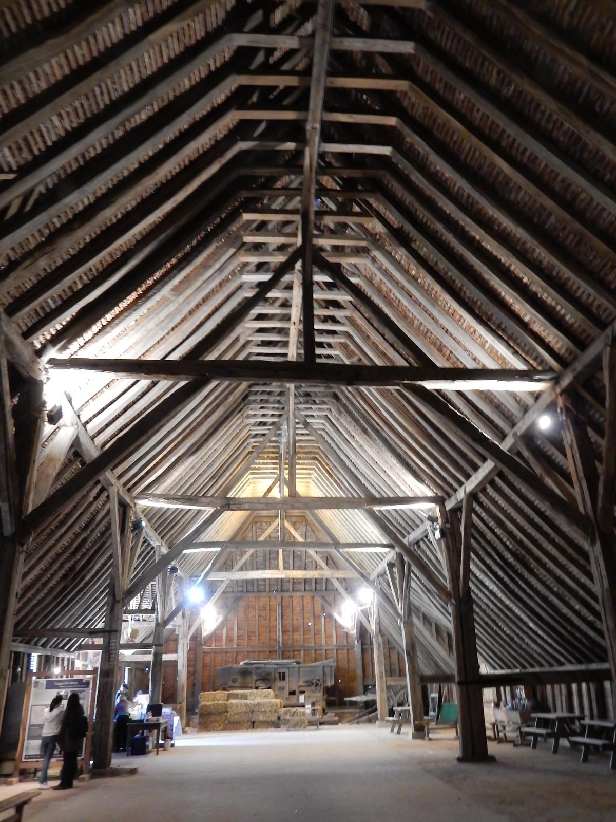 Inside Grange Barn Kelvedon Circular