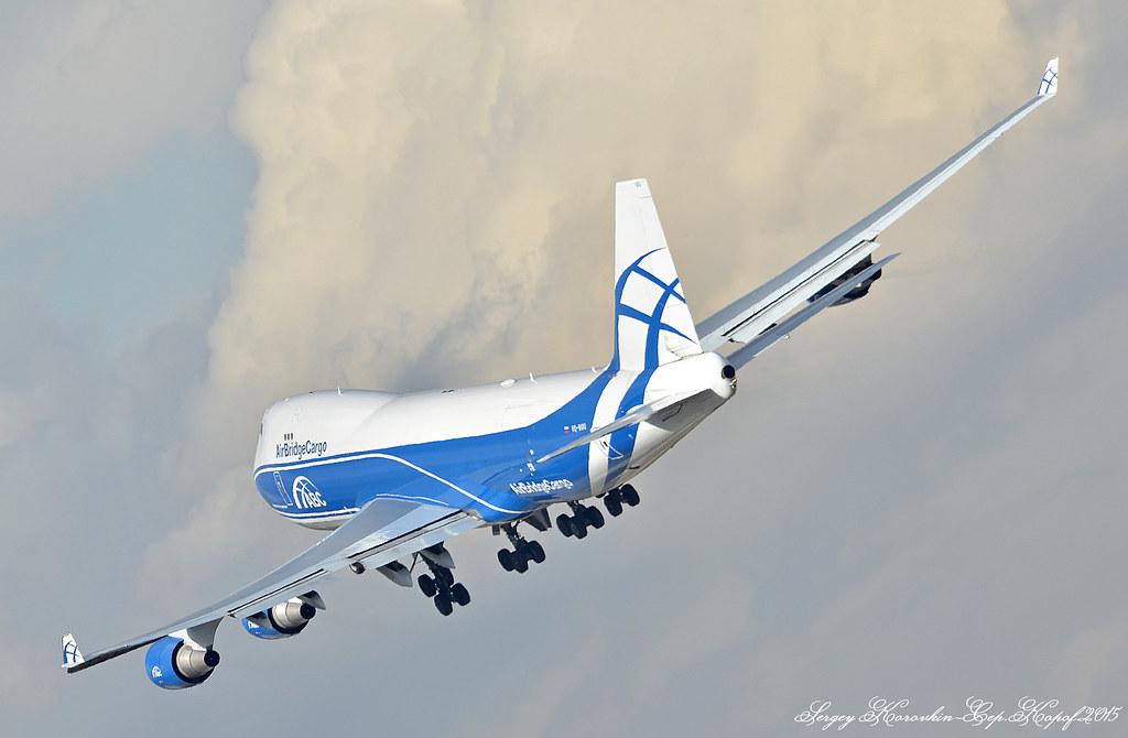 AirBridgeCargo Boeing 747-4EVF VQ-BUU