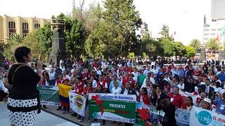 IAMRECON 2015 Demonstration against TPP, TISA, TTIP, CETA