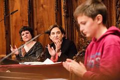 dl., 09/05/2016 - 14:11 - L'alcaldessa presideix la XXIa edició de l'Audiència Pública de Nois i Noies de Barcelona