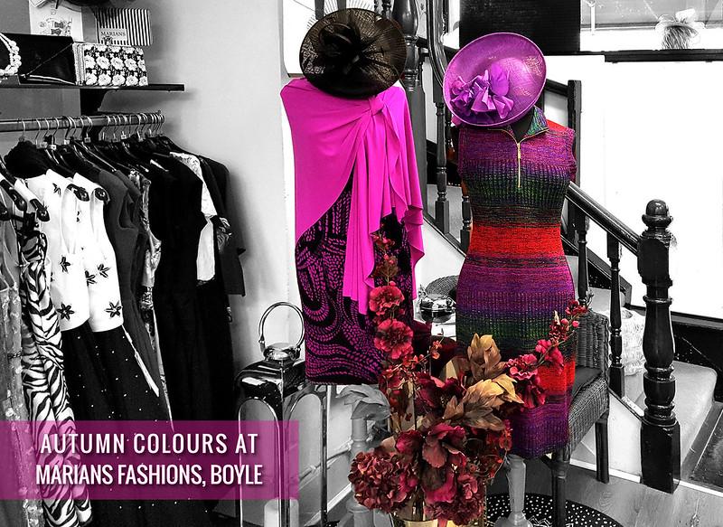 Marians Fashions - Autumn Colours