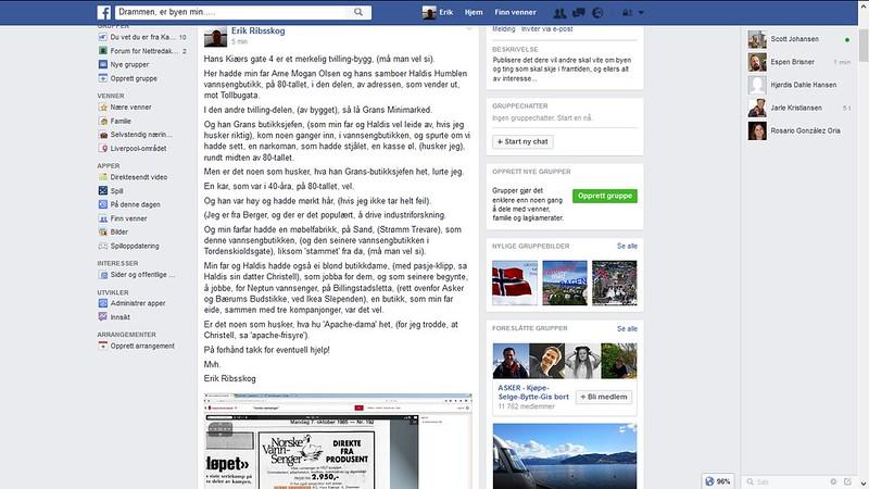 drammen er byen min facebook