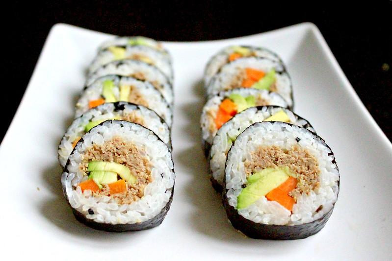 Tuna kimbap