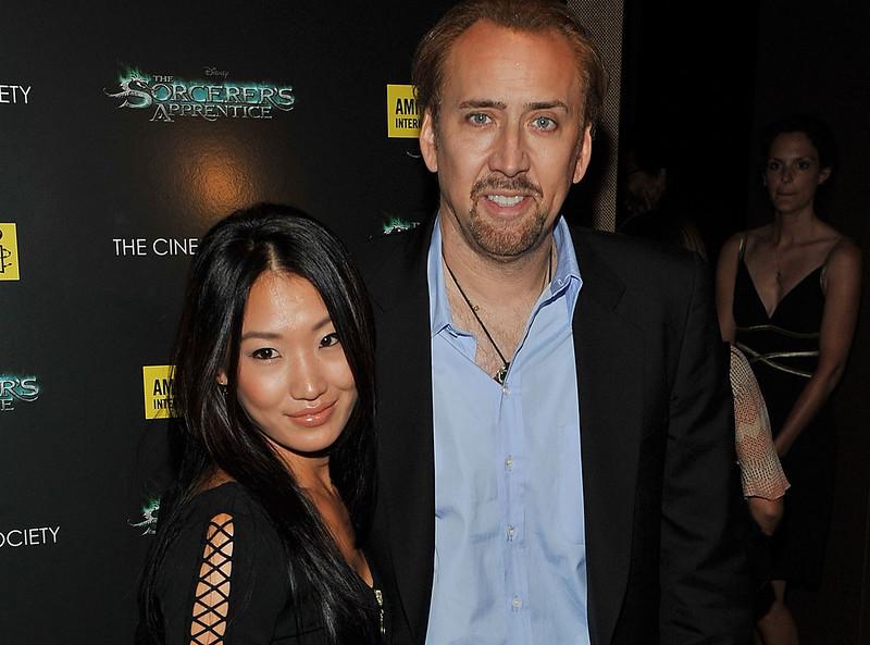 Развод Николаса Кейджа с Элис Ким в 2016 году