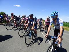 Départ de la dernière étape du Tour79 Magasin U qui emmène les coureurs de François à Couture d'Argenson