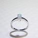 霍爾之星 珍稀蛋白石戒指 925銀 A005