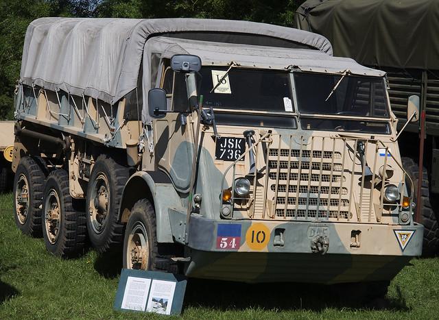 1955 DAF YA328 Military 6x6 Truck JSK 736