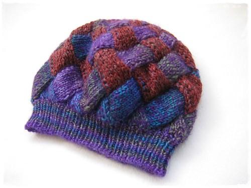 entrelac hat_1