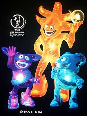 Fußball-WM 2002: Maskottchen