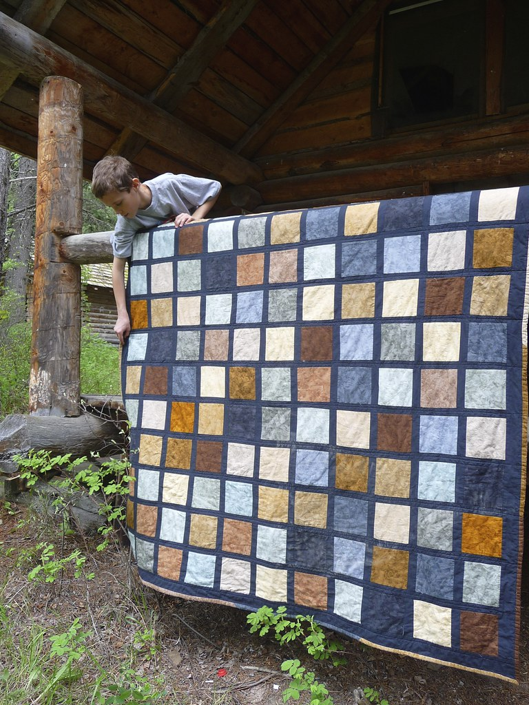 """Rustic"" Quilt for Levi"
