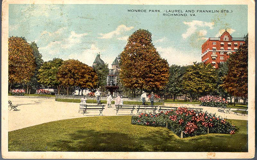 Monroe Park, (Laurel and Franklin Sts.) Richmond, Va.