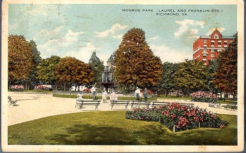Monroe Park, (Laurel and Franklin Sts.) Richmond, Va.