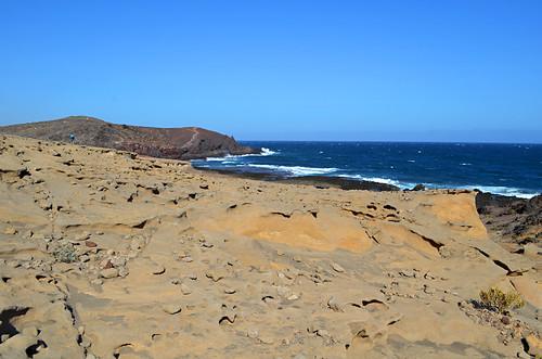 Below Montaña Roja, El Medano, Tenerife