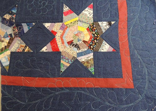 Quilting Progress on String Stars