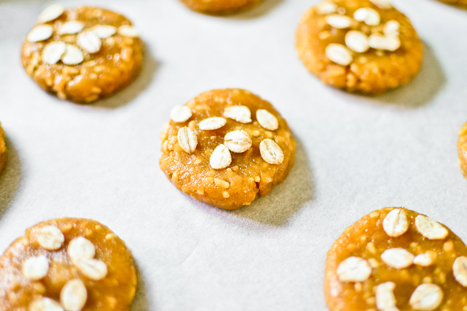 Flourless Peanut Butter Flaxseed Cookies