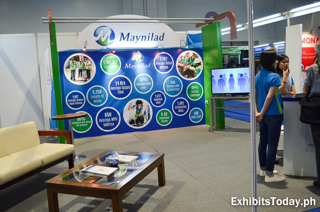 Maynilad Exhibit Booth