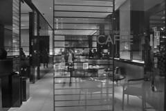 Milan - Armani Caffe entrance