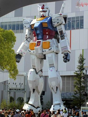 visiter tokyo transformers-odaiba