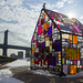 Stained Glass House by Lorie Shaull