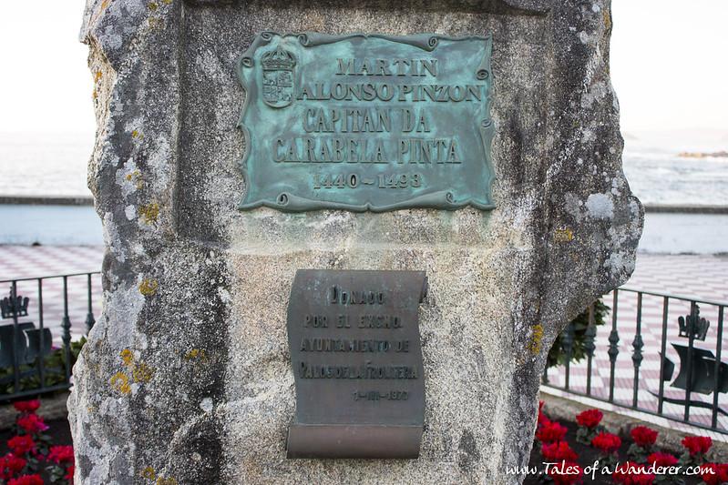 BAIONA - Monumento a Martín Alonso Pinzón
