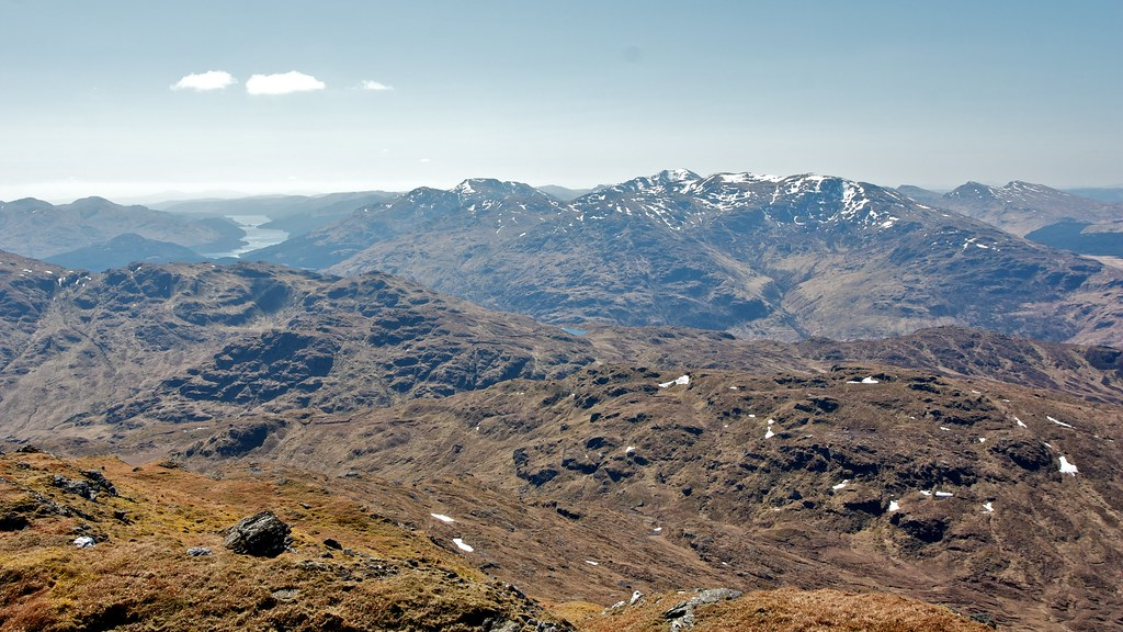 Loch Long and Arrochar from Beinn Chabhair