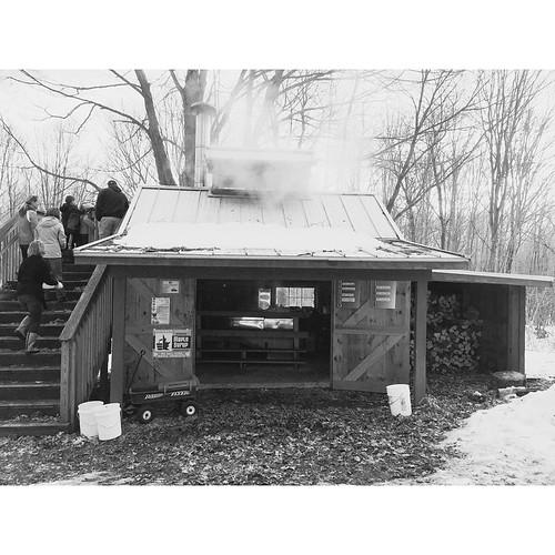 Vantaalte Farm sugar shack.