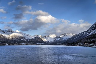 Romsdalsfjord, Andalsnes, Norway