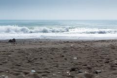 Rough Letojanni sea