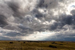 Thunderstorm, Custer Battlefield National Monument