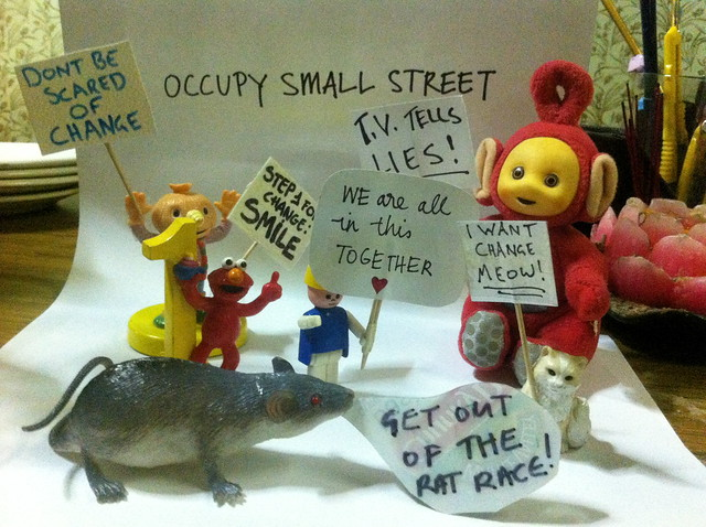 Occupy Small Street