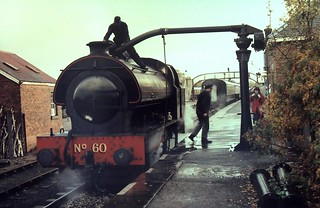 89-028  The Strathspey Railway's ex-Lambton Railway Hunslet Austerity 0-6-0ST No. 60 - two of two