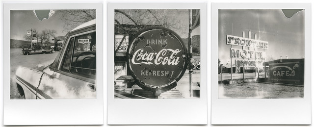route 66 triptych. 2015.
