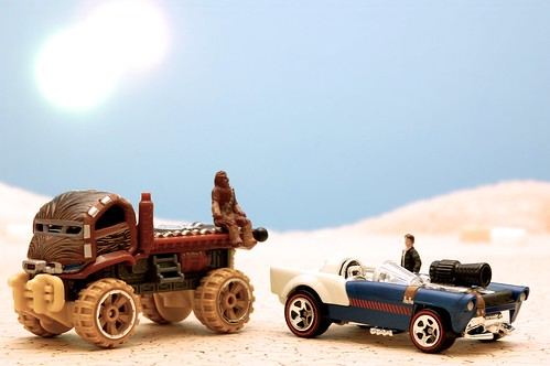 Car Wars: Chewie and Han
