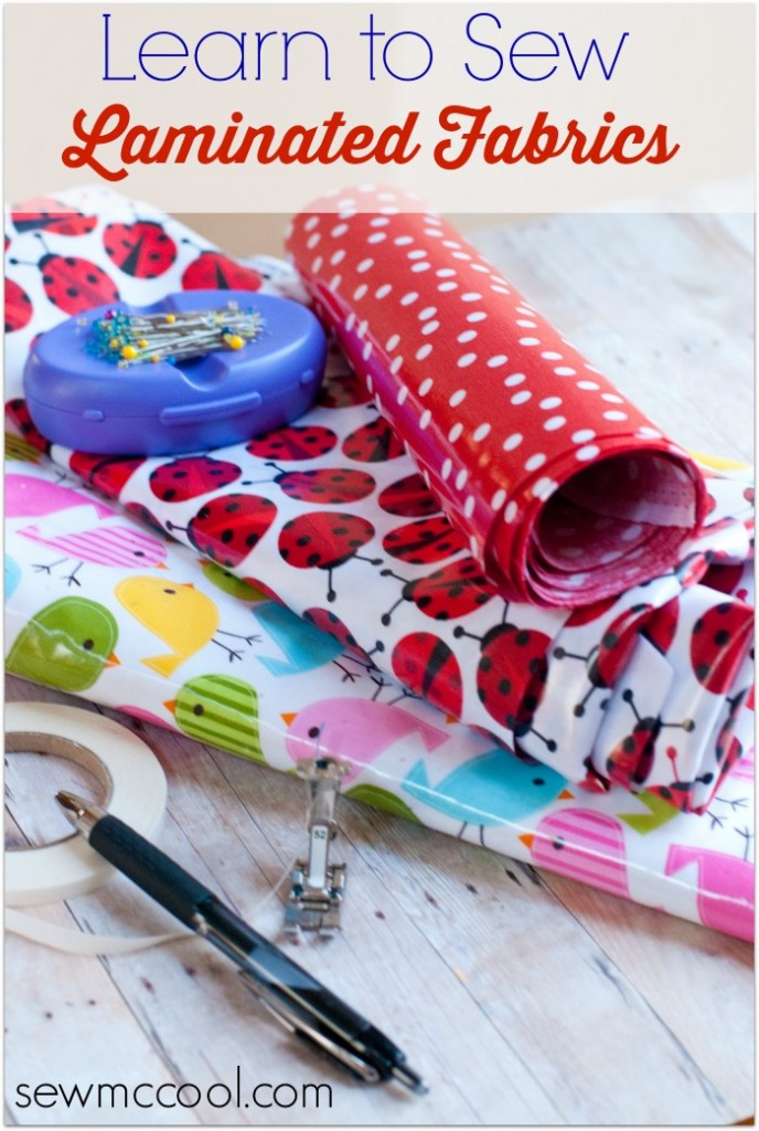 sewing with laminate fabric
