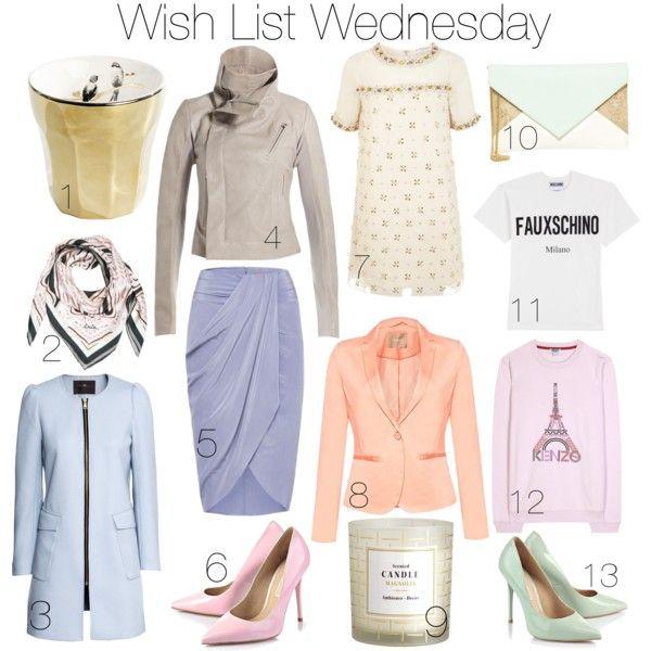 Wish List Wednesday with Pastels I www.StylebyCharlotte.com