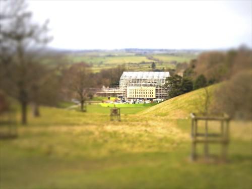 Dyrham Park. Building Dyrham. National Trust