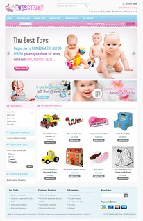 Kids Store - Magento Responsive Template